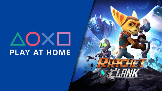 ratchet and clank free ps4 ps5 stay at home covid 19 insomniac games 2016 platformer sony interactive entertainment