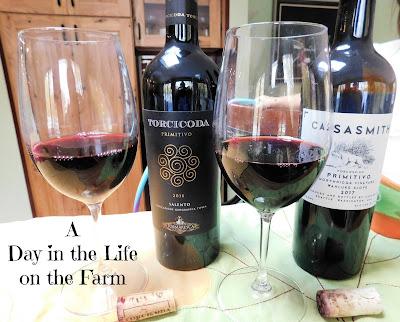 2 bottles of wine