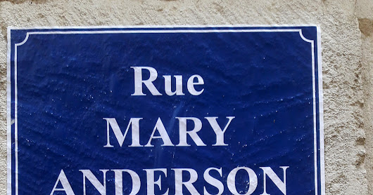 Poitiers, rue Mary Anderson