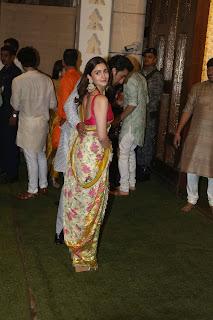 Alia bhatt saree HD images