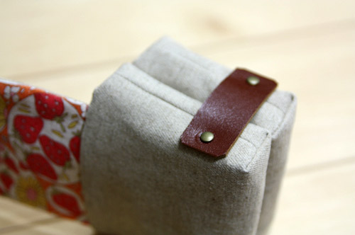Sewing Fabric Gift Card or Business Card Holder. Tutorial DIY in Pictures.
