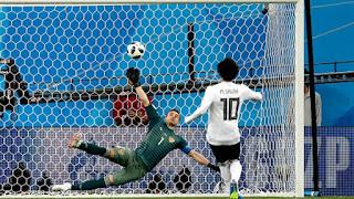 هدف محمد صلاح يقضي و يكسر أسطورة مجدي عبد الغني في كأس العالم