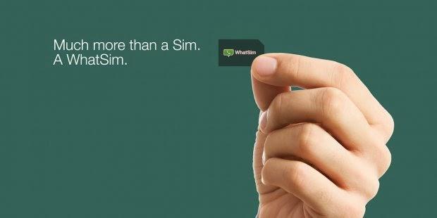 WhatSim - Percuma Whatsapp Di 150 Negara