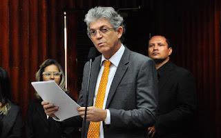 Ricardo descarta Senado e garante que governará até dezembro: 'eu quem fui eleito'