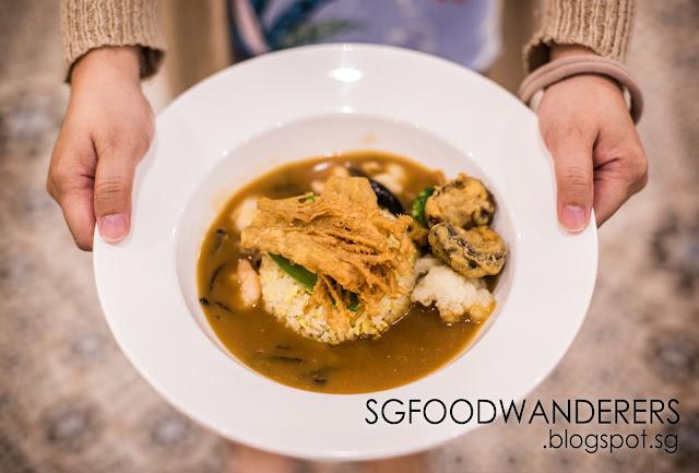 CLOSED: Premium Quality Food at Kopitiam: SG Braised Rice 十格捞饭 at Plaza Singapura