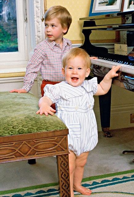 Royal Family Around The World Childhood Photos Of Prince