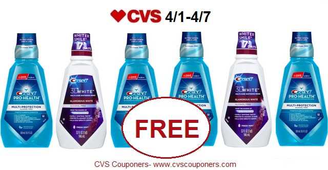 http://www.cvscouponers.com/2018/03/free-crest-prohealth-or-3d-white.html