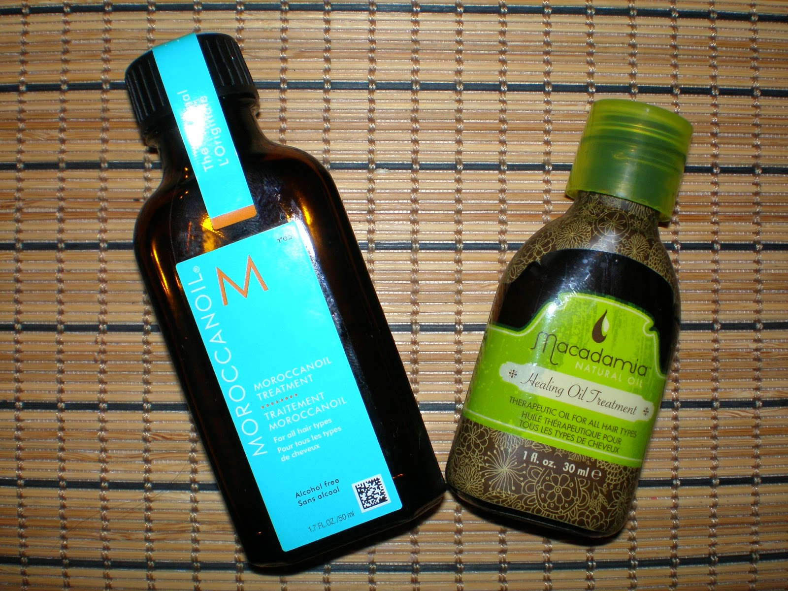 Moroccanoil vs Macadamia Natural Oil