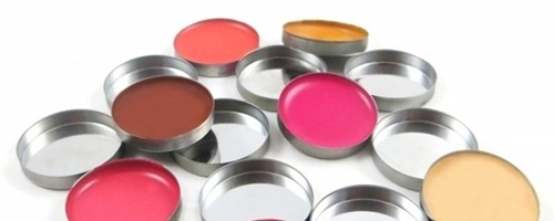 Godets sueltos para maquillaje