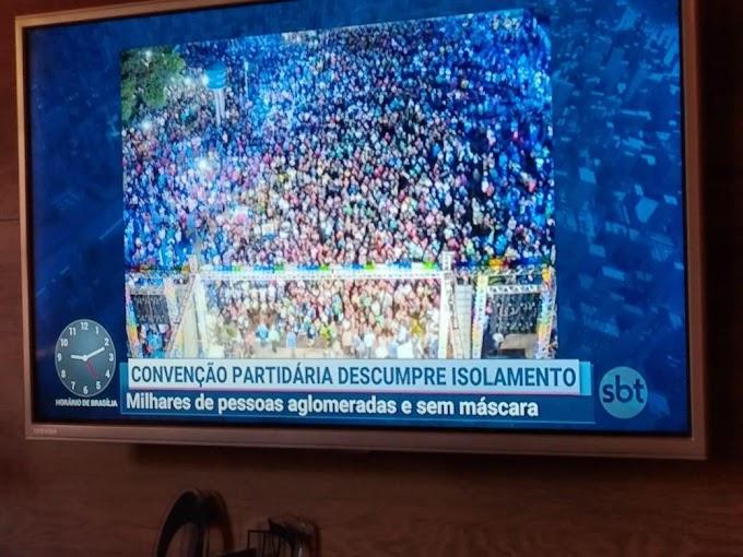 NEGATIVA EM REDE NACIONAL - Por um matoense: Ferdinando Coutinho, o prefeito fanfarrão e inconsequente!