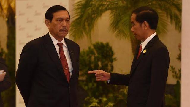 Jokowi Harus Copot Menteri Luhut yang Tetap Garap Ibukota Baru di Tengah Wabah Corona