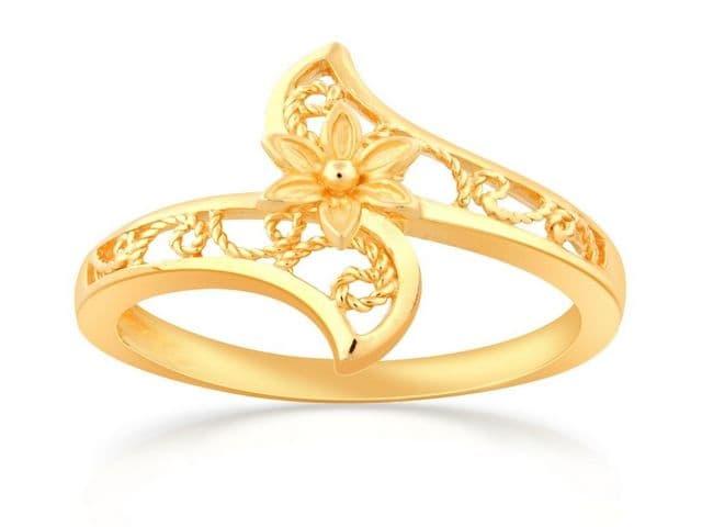 خواتم ذهب رقيقه جدا 16 | Simple gold rings 16