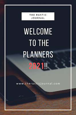 Welcome to the Planners 2021!!