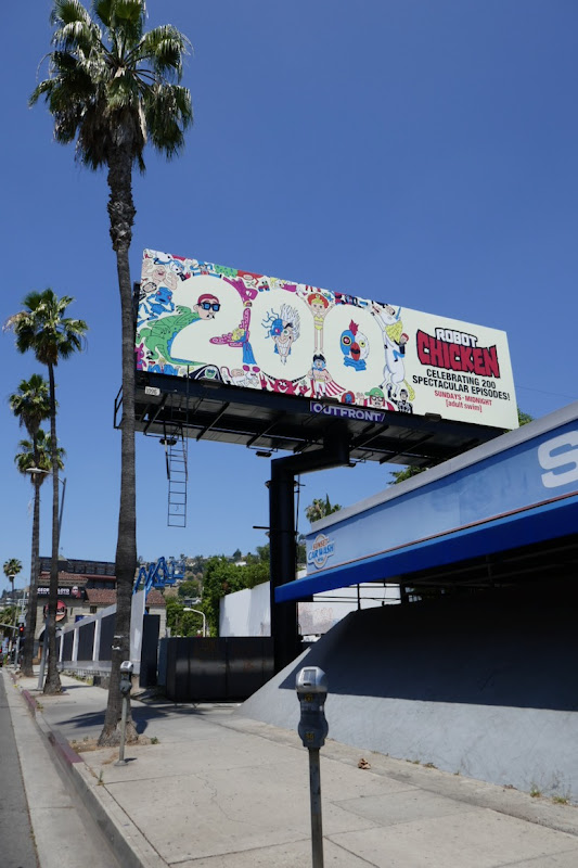 Robot Chicken 200 billboard