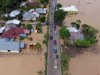 Sebanyak 8 Titik Banjir di Gorontalo Dini Hari, 12 Juni 2020