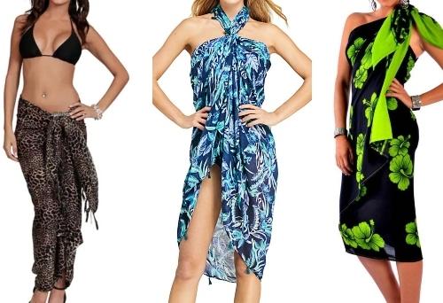 Sarong Wrap Dresses