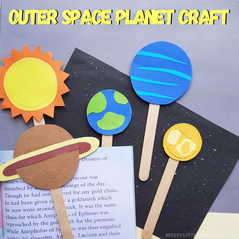 Outer Space Planet Craft