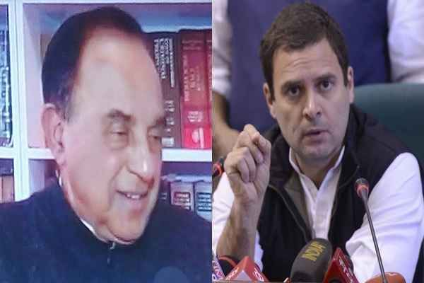 subramanian-swamy-will-not-told-buddhu-bombino-to-rahul-gandhi
