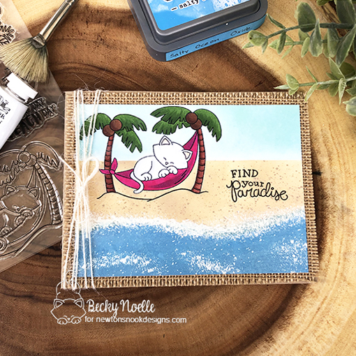 Find your paradise by Becky features Paradise Palms and Aloha Newton by Newton's Nook Designs; #newtonsnook