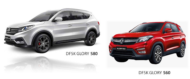 Daftar Harga dan Spesifikasi Line up SUV Terbaru Mobil Dari DFSK 2020