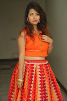 Shubhangi Bant in Orange Lehenga Choli Stunning Beauty ~  Exclusive Celebrities Galleries 075.JPG