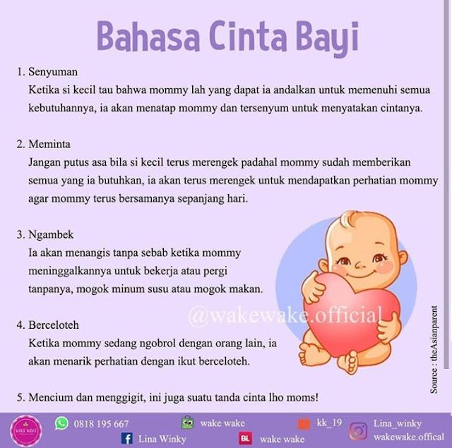 Bahasa cinta bayi