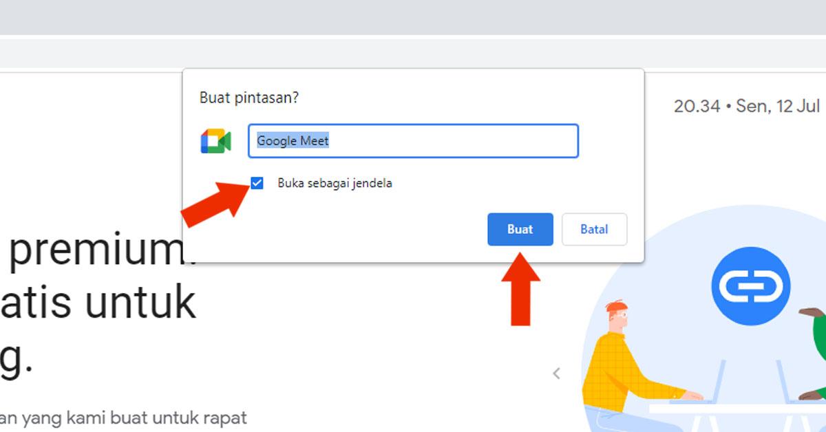 Cara Install Google Meet di Laptop Tanpa Aplikasi