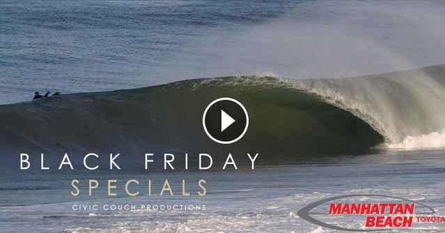Swell Stories Insane Surf Hits Los Angeles on Black Friday