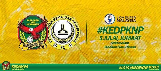 Live Streaming Kedah vs Pknp Liga Super 5.7.2019