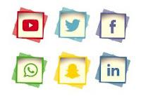 كود صور أيقونات مواقع التواصل الإجتماعي للمواقع و مدونات بلودر