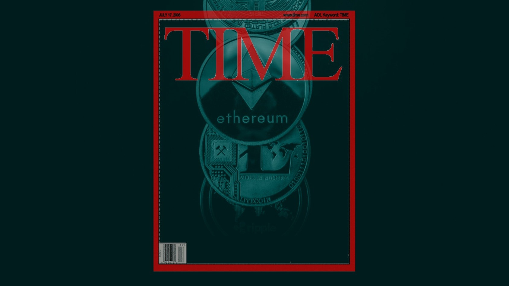 La revista TIME pagos con criptomonedas