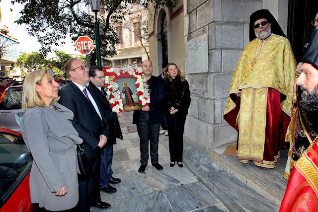 Λαμπρές εκδηλώσεις στην Αθήνα για τον Άγιο Αναστάσιο από το Σύλλογο απανταχού Ναυπλιέων «Ο Ναύπλιος»