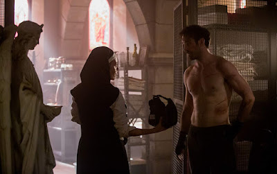 Daredevil Season 3 Joanne Whalley Charlie Cox Image 1