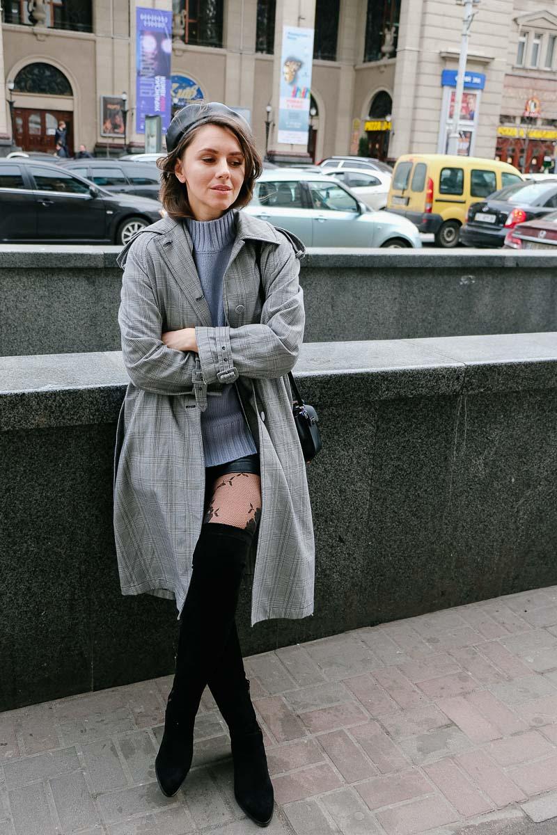 модные люди на улицах Киева