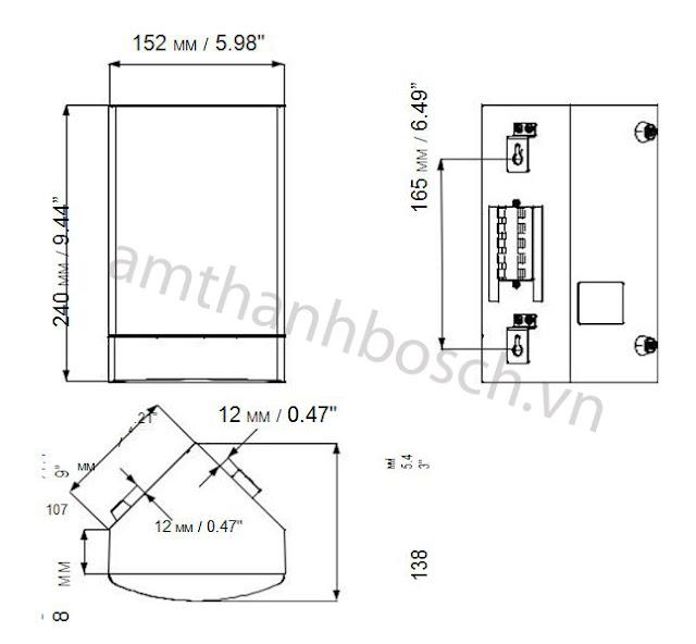 Loa hộp đặt góc LB1-CW06-D1