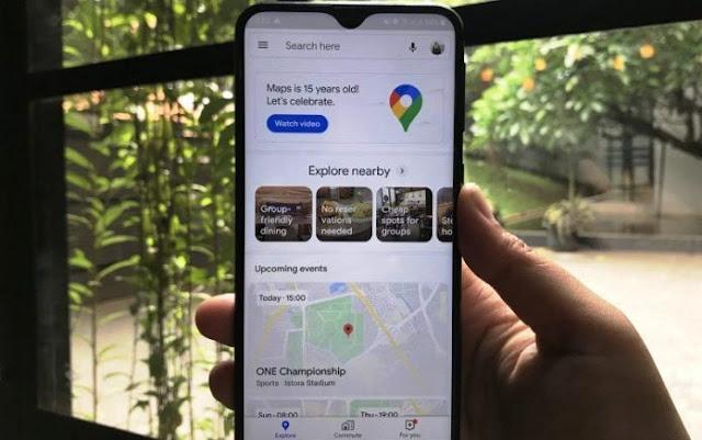 Rayakan 15 Tahun, Google Maps Tampil dengan Fitur Baru