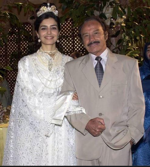 cena casamento Latifa e Mohamed