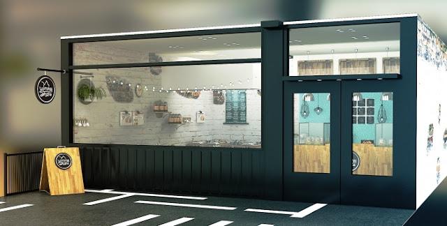Cafe indoor-Desain cafe