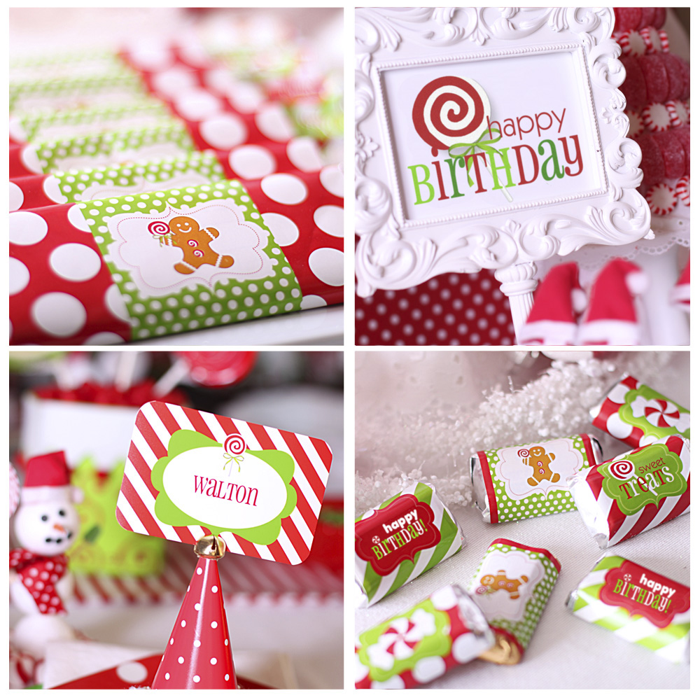 Christmas Holiday Party: Amanda's Parties To Go: NEW Birthday Candy Christmas