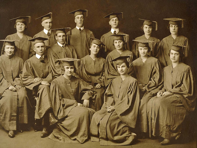 High School Graduation 1920s My son Harry can marchmatron.com