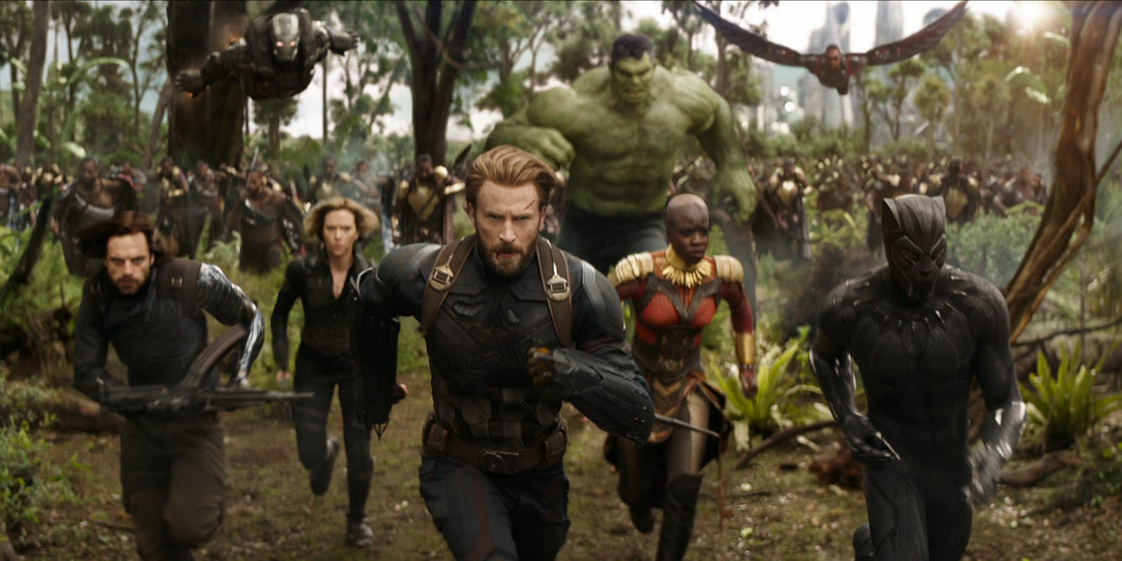 MOVIES  Avengers  Infinity War   Review When the Marvel Cinematic Universe first began with 2008 s Iron Man   longtime comic fans reveled in the notion that someday in the near future