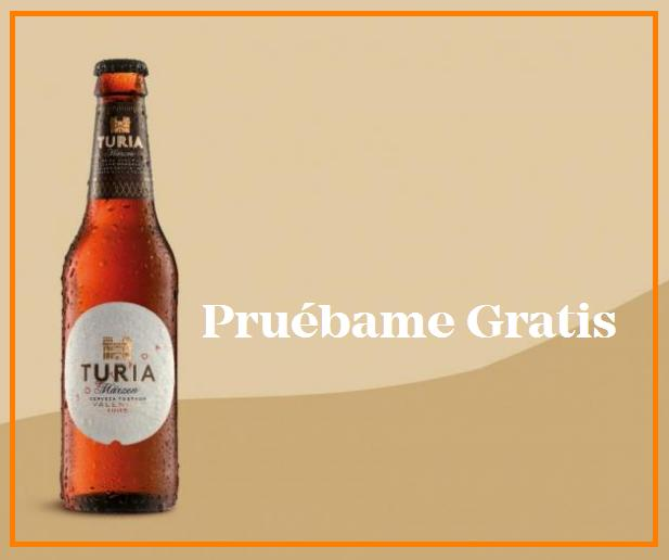 Prueba cerveza Turia gratis