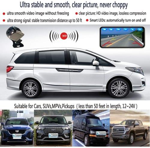 Casoda Car Wireless Backup Camera for Android