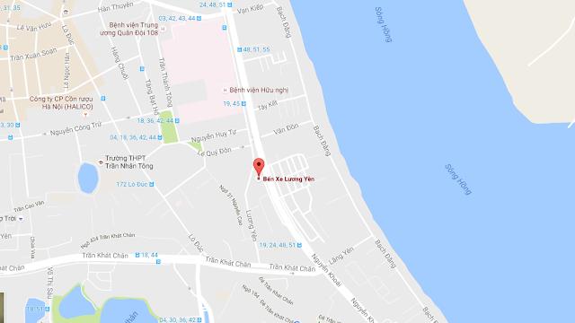 Vị trí dự án Sun Grand City Lương Yên