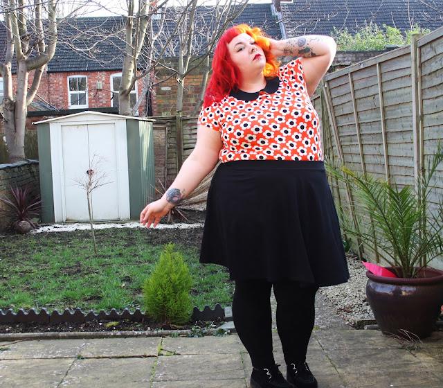 Ruby Thunder, rubythunder, plus szie alternative blogger, Tu by Sainsburys, plus size blogger, fatshion