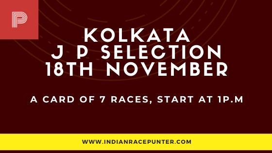 Kolkata Jackpot Selections 18 December