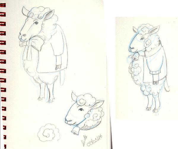 IM Challenge #3 [Aramis] : Les loups garoux de Thiercelieux   Recherche_mouton02