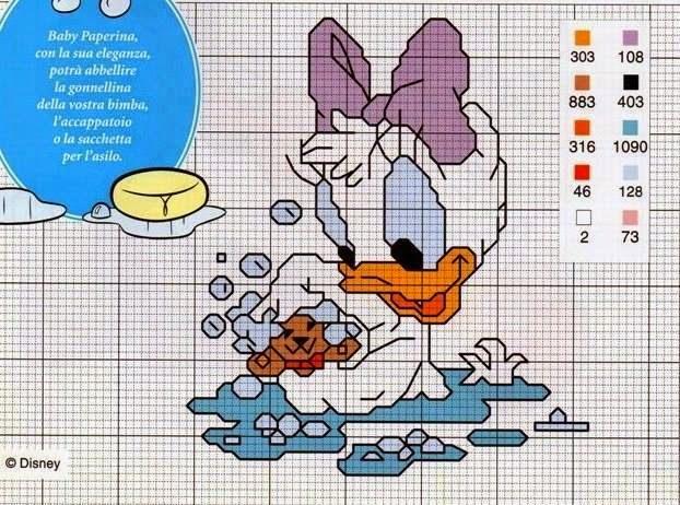 Terry Pc Stitch Per Bavaglini Con Lettere Alfabeto Punto
