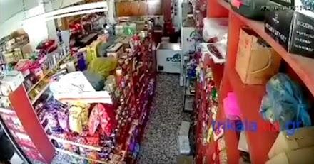Νέο αδημοσίευτο video απο τον σεισμό στα Τρίκαλα
