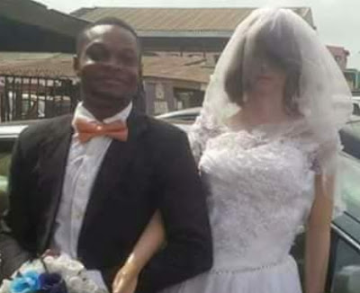 nigerian marries sex doll lagos nigeria